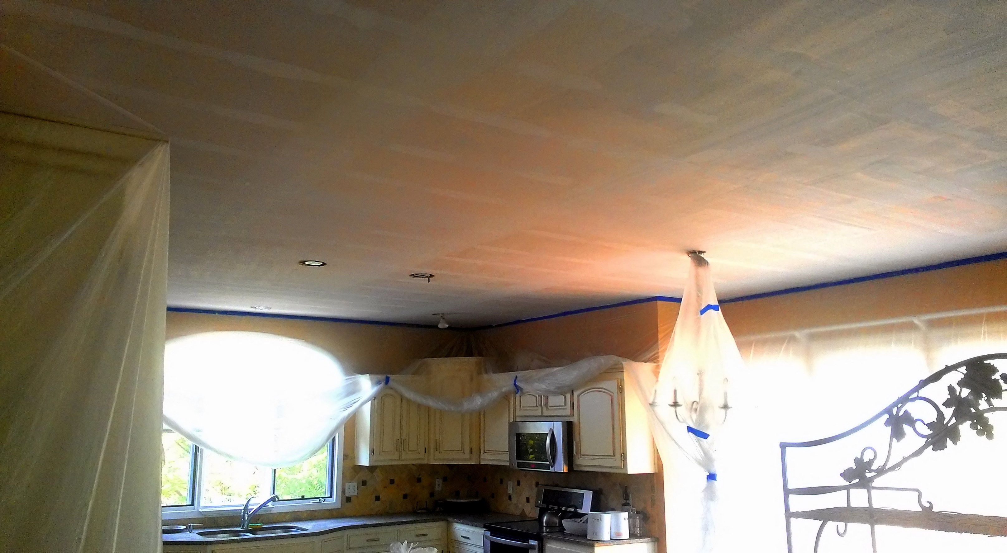 elegant removal remove popcorn painted ceiling with how home removing cost ceilings modern to of